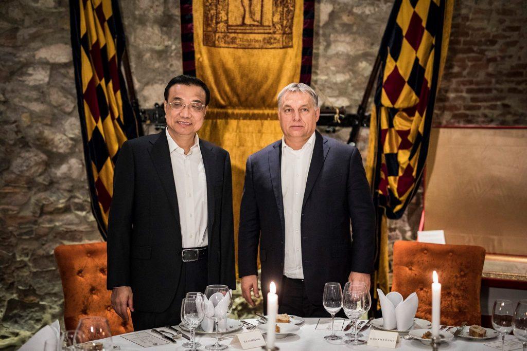 2017. nov. 26. Orbán Vikotor & kínai miniszterelnök